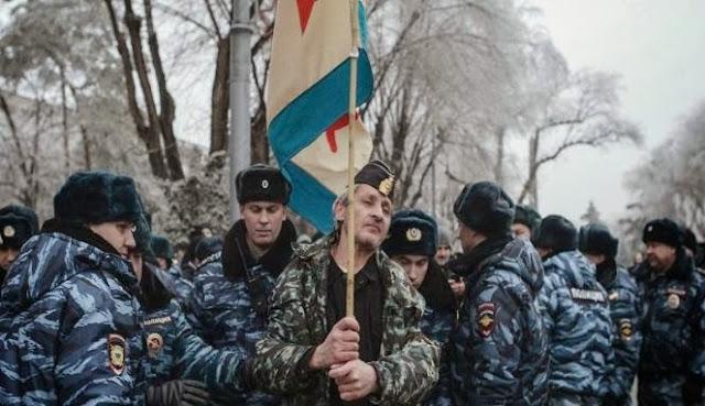 Rusia Kerahkan 4.000 Polisi dan Tentara dalam Operasi Antiteror Angin Puyuh