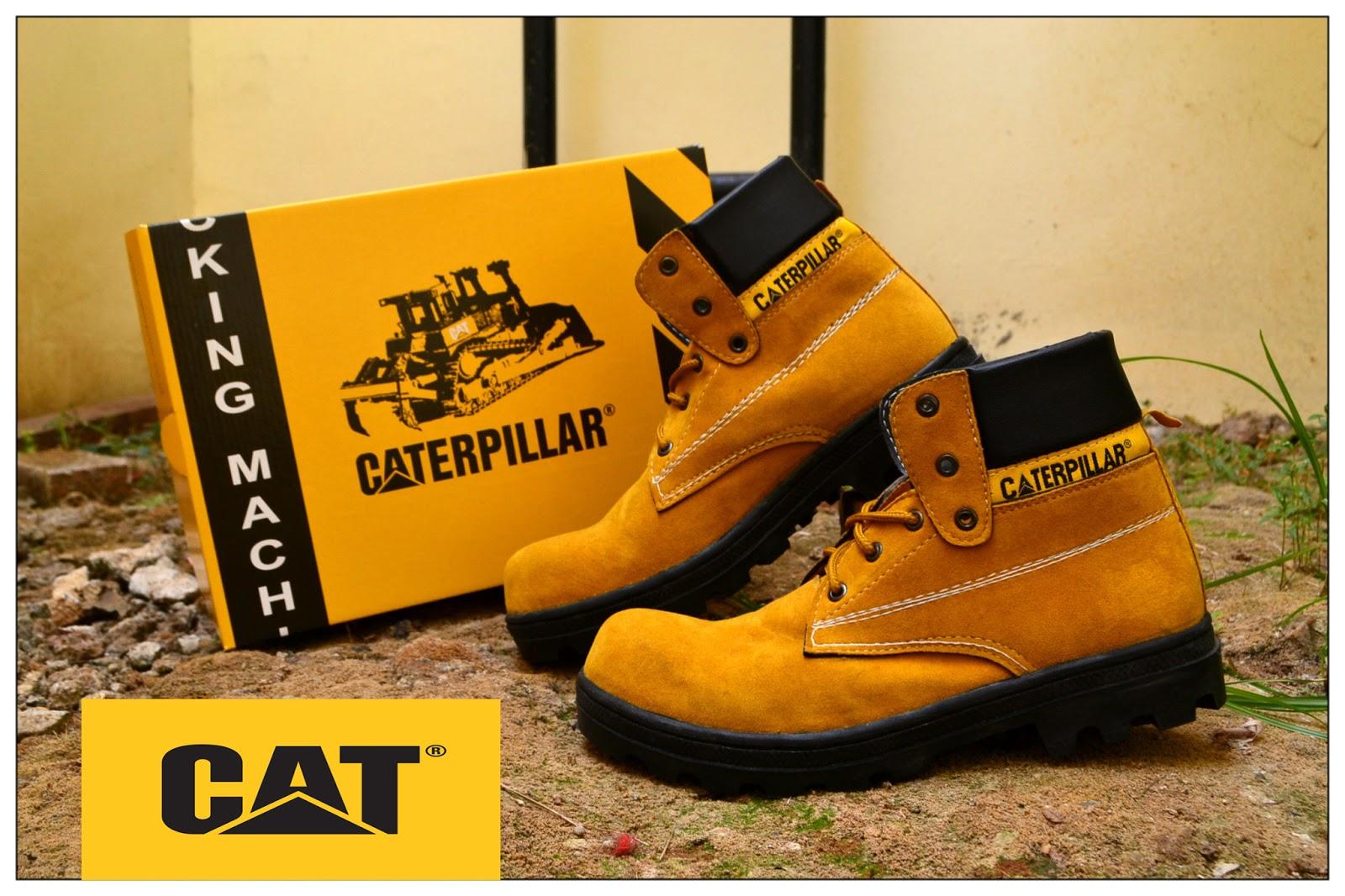 Jual Sepatu Caterpillar Special Tan Brown Leather Rp 115000 KW Super