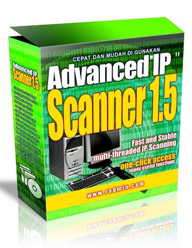 Scanning IP Jaringan Menggunakan Advance IP Scanner