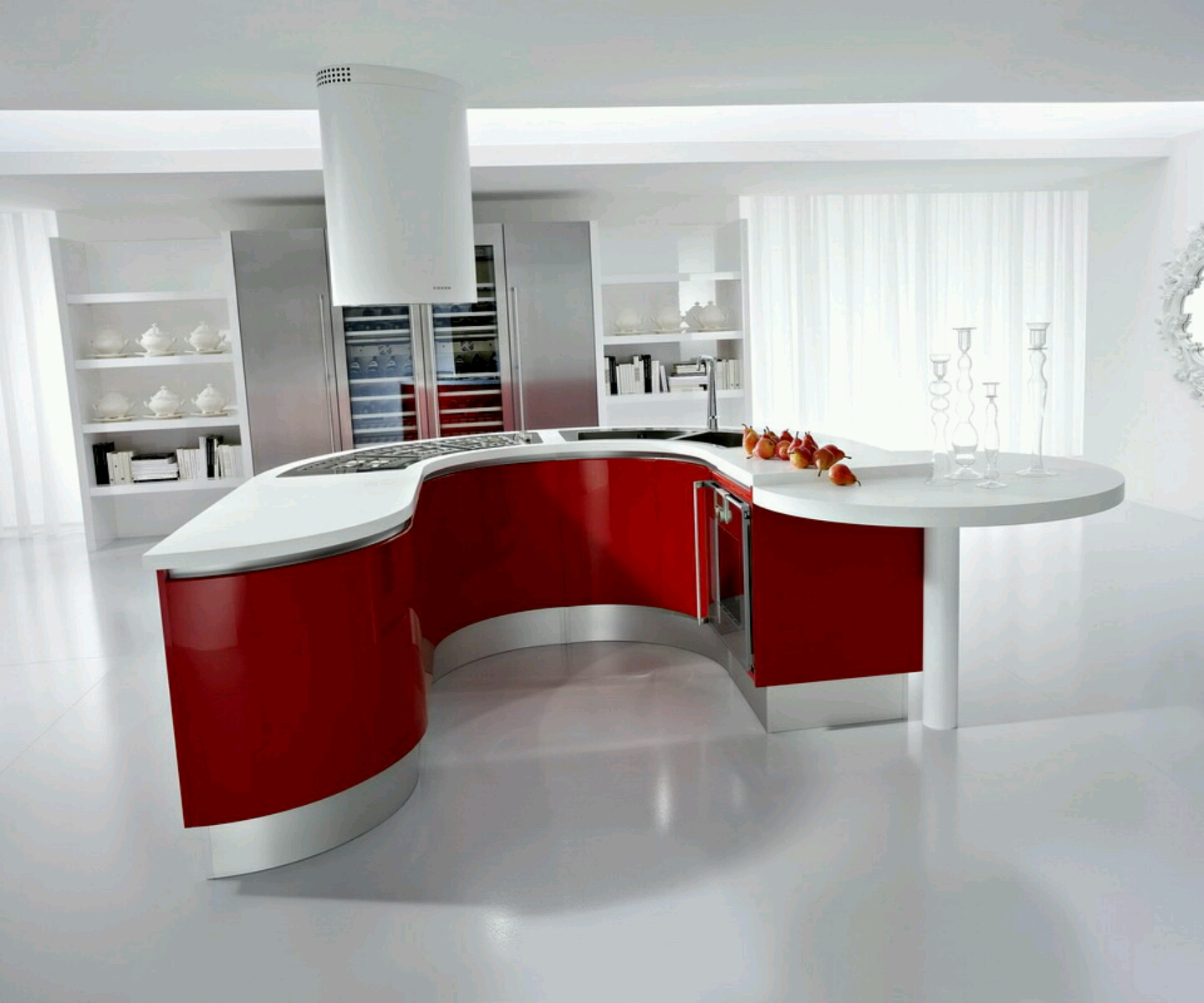 Modern kitchen cabinets designs ideas furniture gallery New contemporary kitchen design