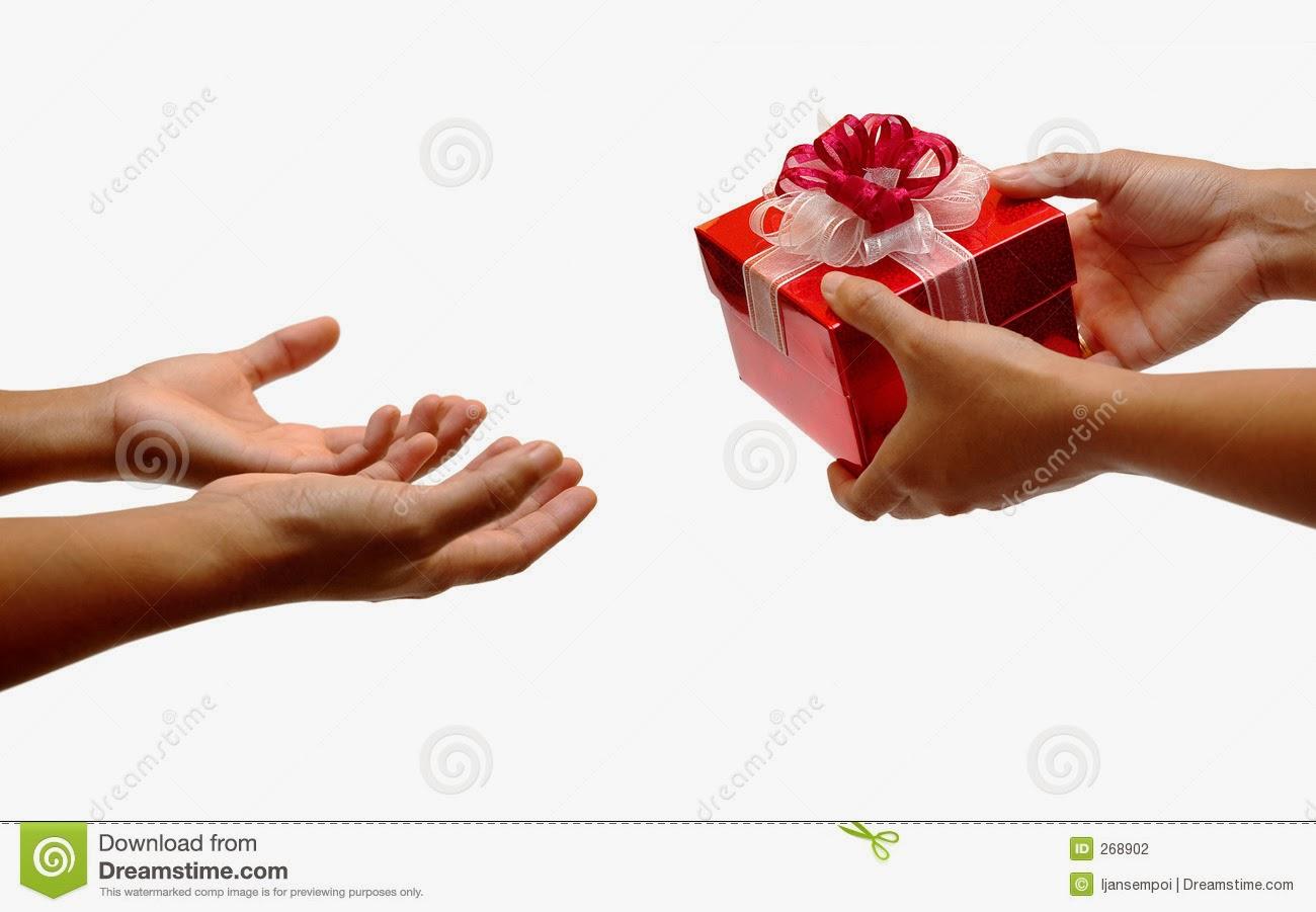 Прими от меня небольшой подарок