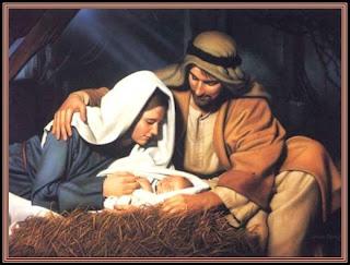 Maria, Jose y el niño Jesus