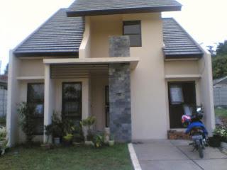 Desain Rumah Sederhana tampak depan