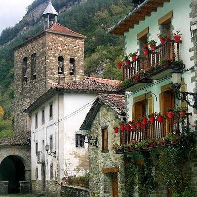 El Roncal, aldea de Urzainqui, Navarra, Espanha