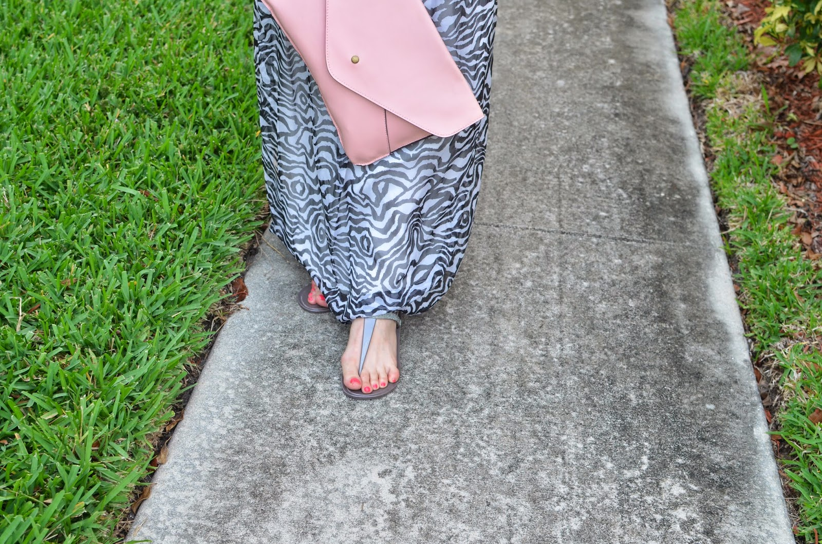 envelope clutch - jelly flats - animal print
