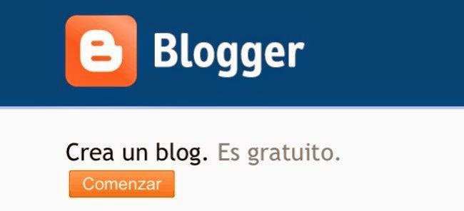 Este blog en concreto está creado en Blogger