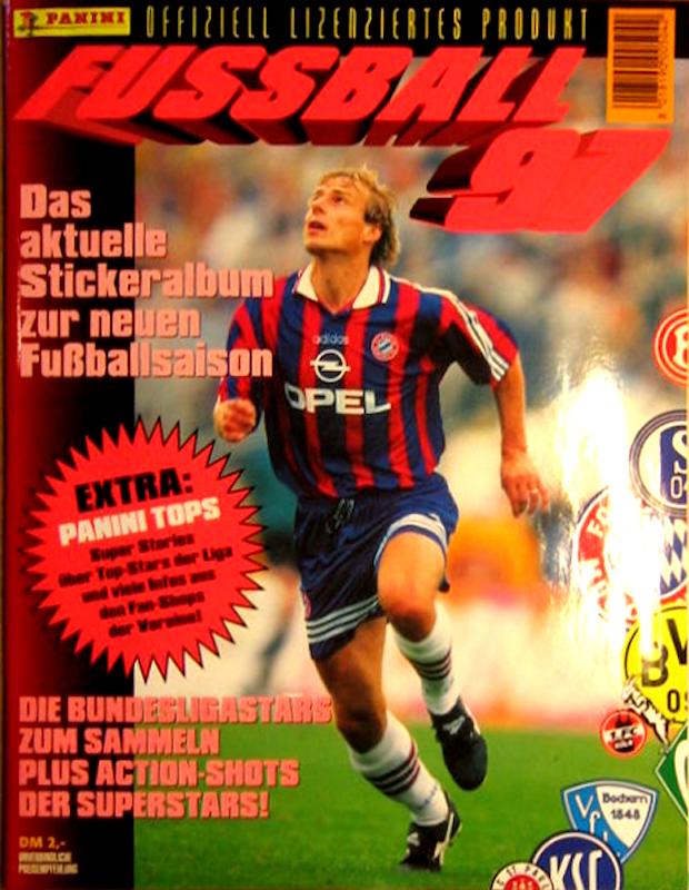 PANINI 205 Olaf Thon Germania Wm 90 World Cup Story