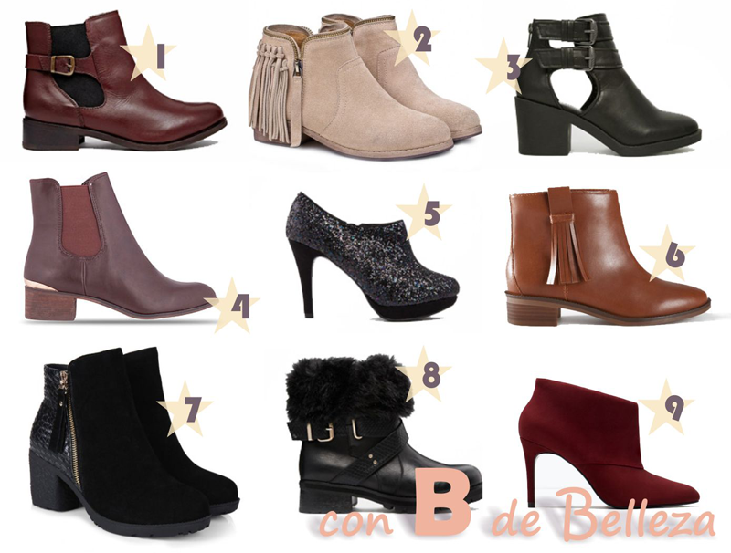Ankle boots Botines Moda
