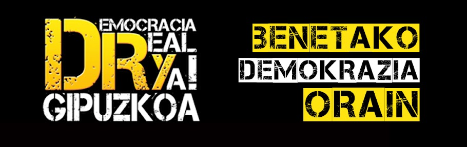 Democracia Real Ya! Gipuzkoa