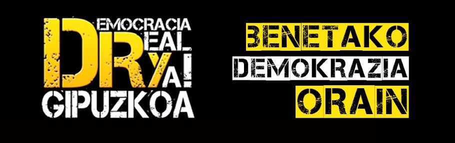 Democracia Real Ya! Gipuzkoa