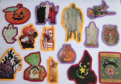Halloween feltboard