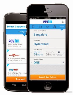 Rs 50 cashback on Recharge of Rs 50 or more at Paytm