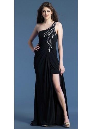 black Elegant long Prom Dresses For You