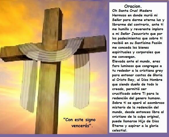 La Oracion De Santa Cruz De Jerusalen