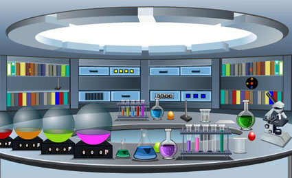 Scientist Room Escape