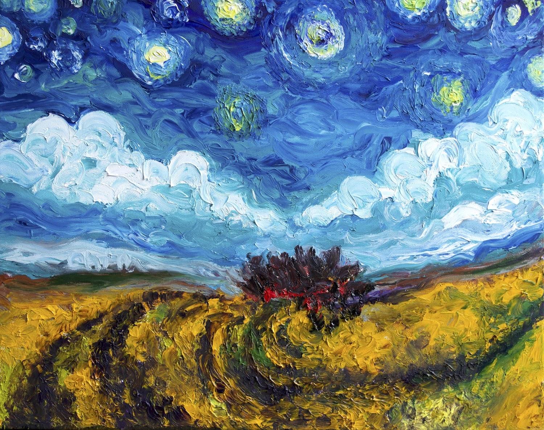 Chiara Magni clouds and stars