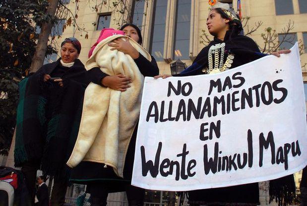 Represion en Ngulu mapu (territorio ancestral Mapuche de oeste)