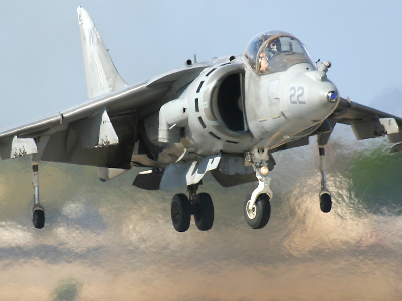 AV-8B V/STOL Lightweight Attack Aircraft