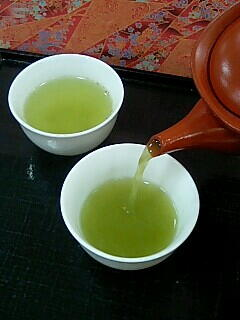 Japanese green tea♥tasting before buying, ocha, matcha,Okinawa ...
