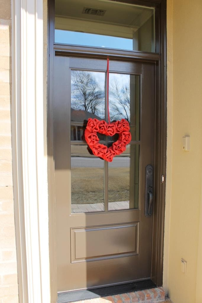 Valentine wreath DIY