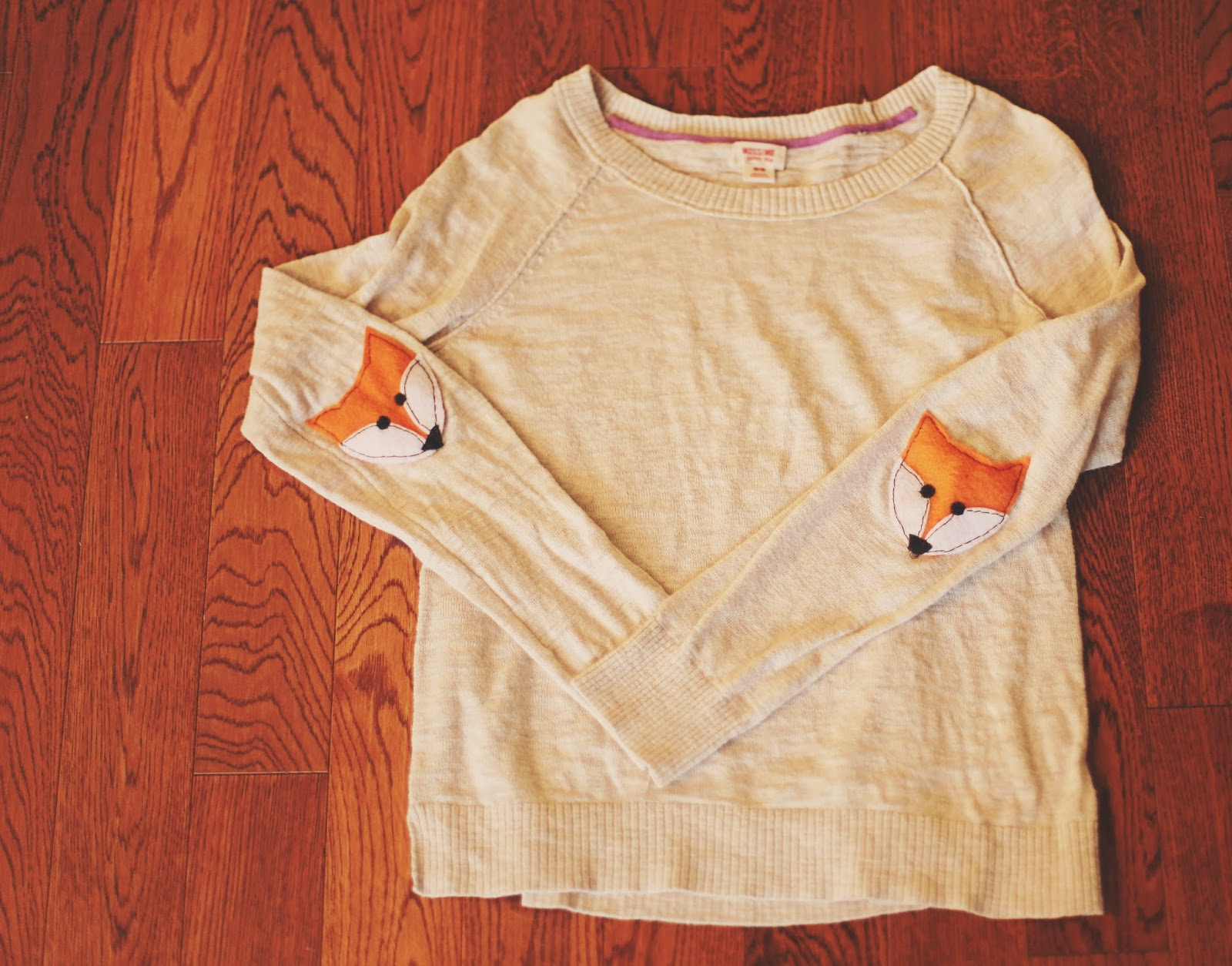 Fox sweater diy adventures in crafting by katyandzucchini fox sweater diy maxwellsz