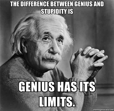 The+difference+++between+genius+and+stup