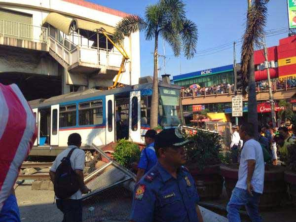MRT Accident MRT Derailed