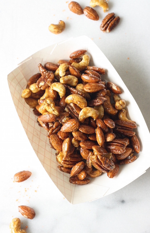 Thai Sriracha Lime Spiced Nuts by SeasonWithSpice.com