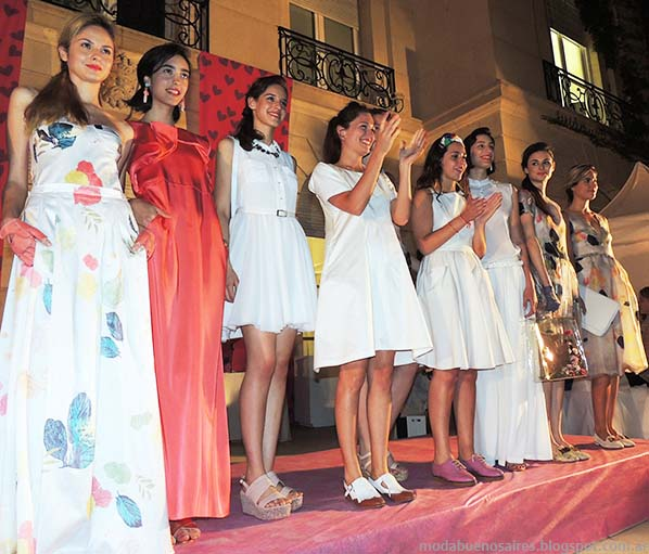 Vestidos Mila Kartei primavera verano 2014.