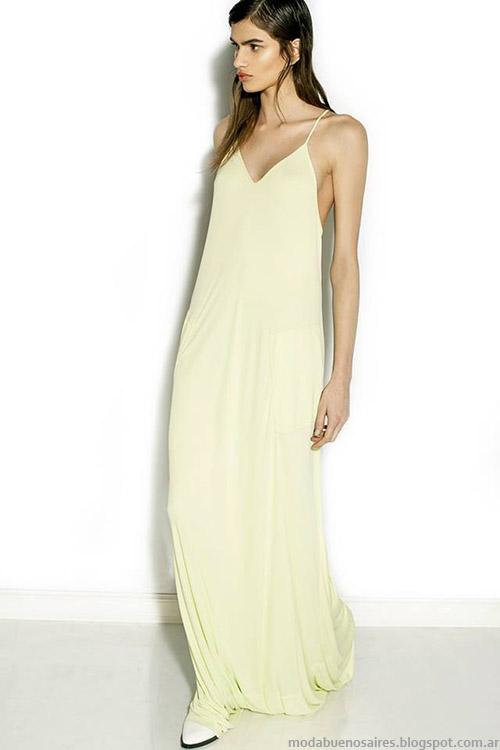 Nous primavera verano 2015, moda verano 2015 vestidos largos.