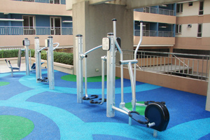 Outdoor Gym at Avida Towers New Manila