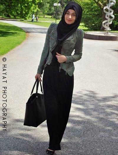 Joli hijab moderne