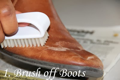 How to Remove Salt Stains from Leather Boots