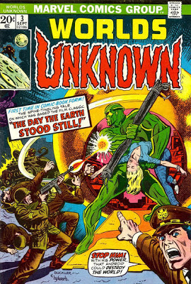 Marvel Comics, Worlds Unknown #3, Farewell to the Master