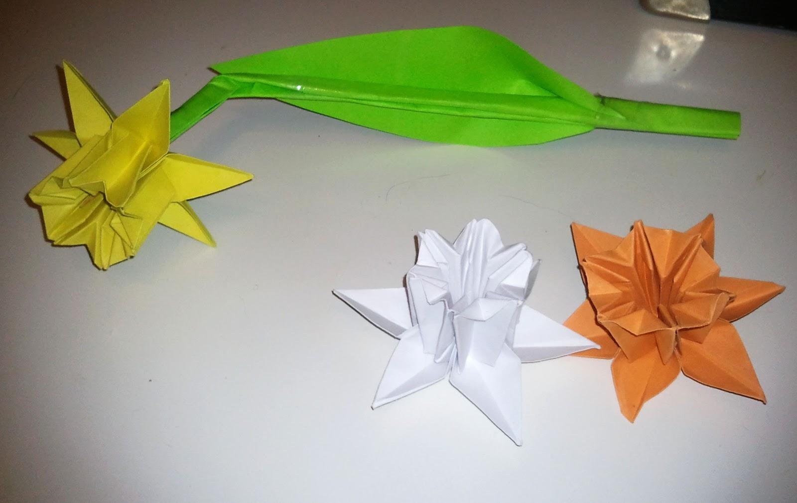 origami narzisse my blog. Black Bedroom Furniture Sets. Home Design Ideas