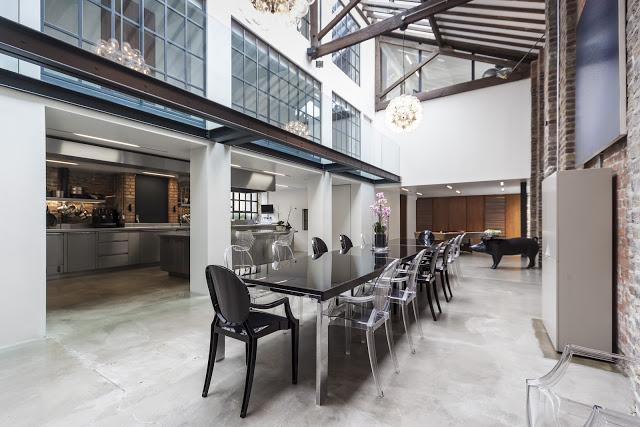 Loft de dise o industrial industrial and design loft - Loft de diseno ...