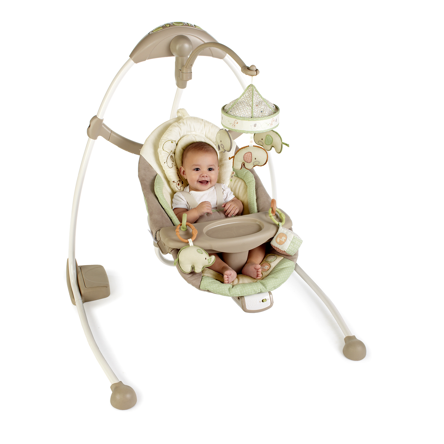 Bright Starts Ingenuity Cradle and Sway Swing - Bella Vista |