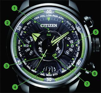 Citizen Satellite Eco-drive Wave