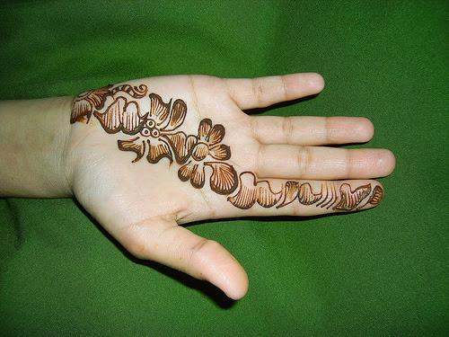 Arabic Mehndi Step By Step : Mehndi designs for girls: simple beginners step