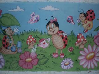 As 13 03 Marcadores Festa Da Joaninha Festa Infantil Painel Joaninha