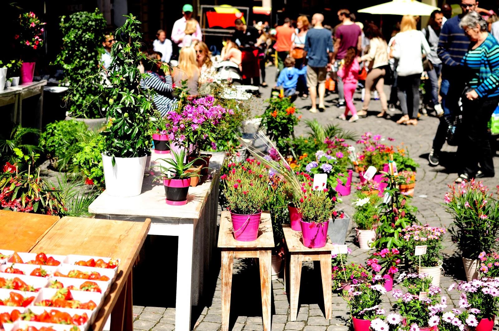 turismo Lausanne mercadillo centro ciudad