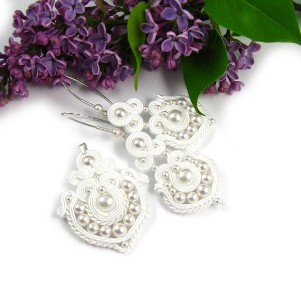 "Komplet biżuterii ślubnej sutasz ""Bridal Oriental""."
