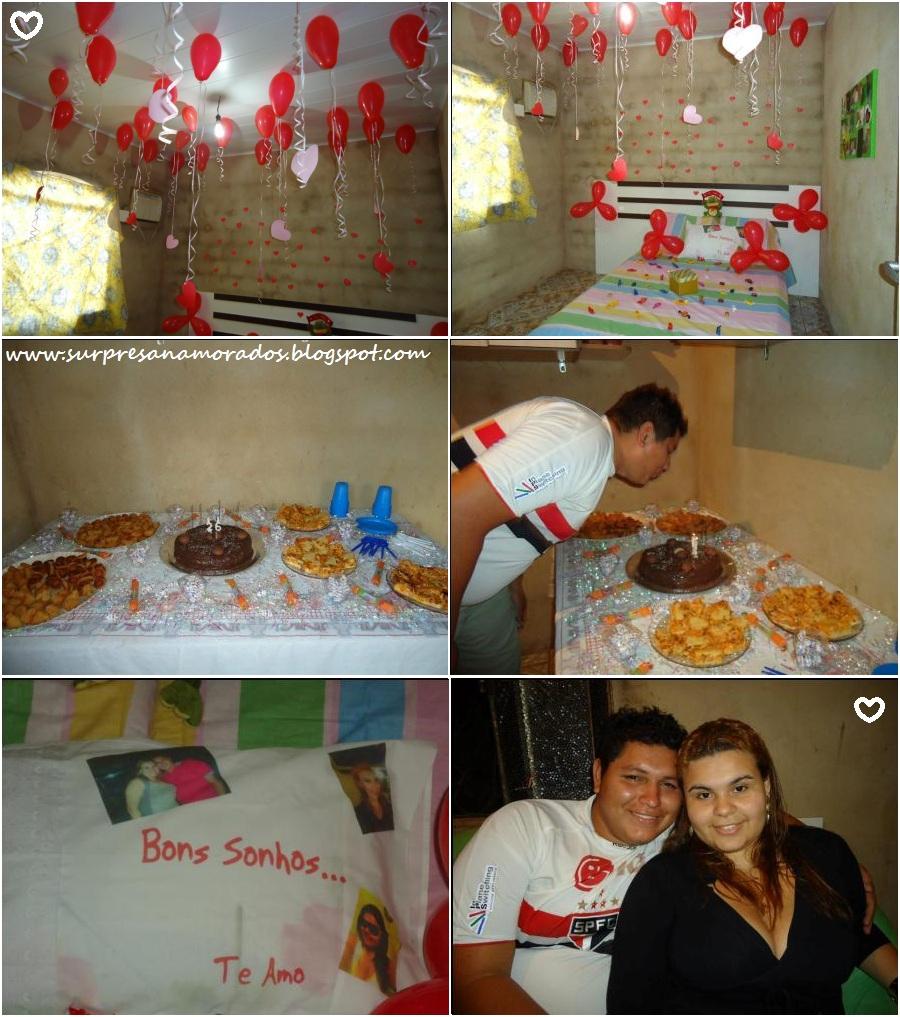 Aniversário do namorado  Camila  Surpresas para Namorados
