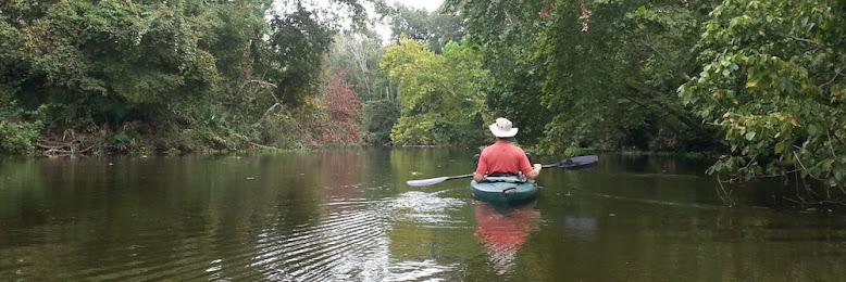 Kayaking on Beautiful Lake Conroe