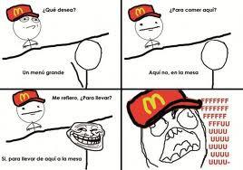 Mientras tanto en McDonalds