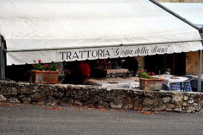 Trattoria La Grotta della Rana in San Sano, Italy - Photo by Taste As You Go