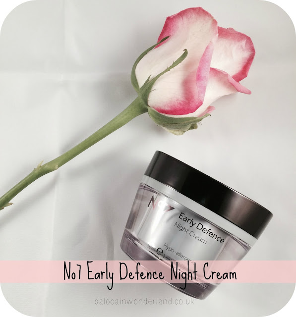 no7 early defence night cream review