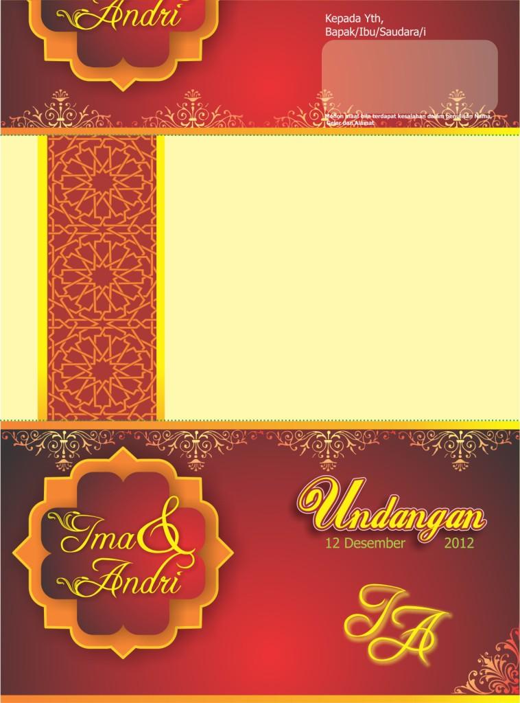 Desain Undangan Pernikahan Islami 2