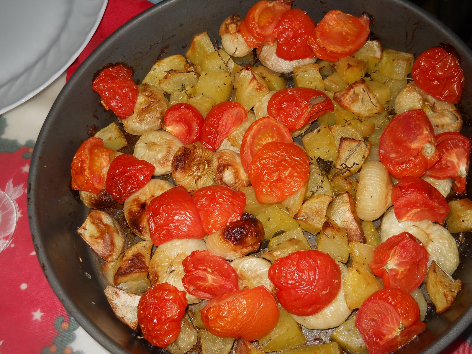 Ricette tris di verdure al forno bricolage ricette blog for Ricette di verdure