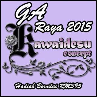 GA Kawaidesu Concept Raya 2015 Bernilai RM395